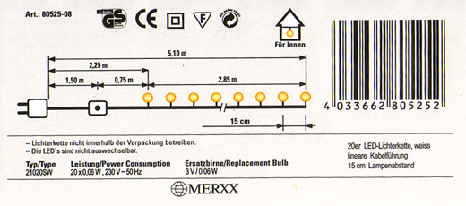 mini led lichterkette m schalter 20er transparent neu ebay. Black Bedroom Furniture Sets. Home Design Ideas